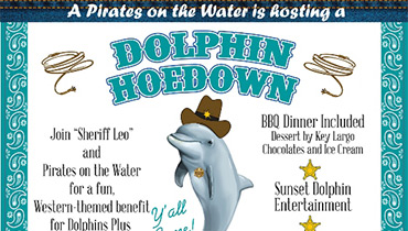 Join Us with Pirates on the Water at the Dolphin Hoedown!